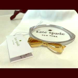 Kate Spade Love Notes Two Tone Bangle Bracelet